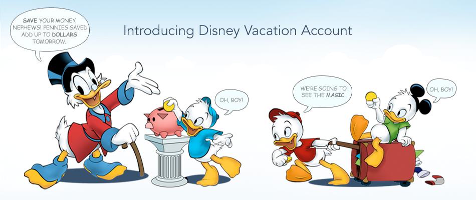 Disney Vacation Account Scrooge Nephews Overview Artwork