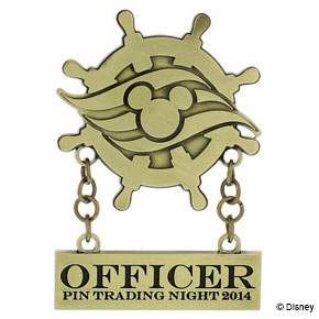 DCL 2014 Officer Trading Nights Pin