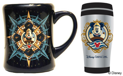 DCL Compass Coffee Mug Tumbler Merchandise January 2014