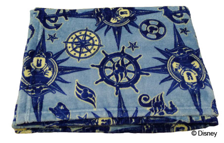 DCL Compass Fleece Blanket Merchandise January 2014