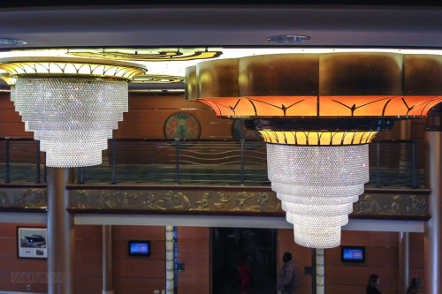 Disney Magic Re Imagined Atrium Chandelier Close Up