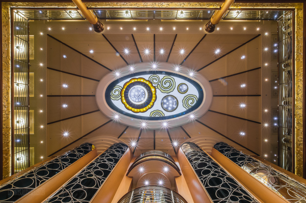 Disney Magic Re Imagined Atrium Ceiling