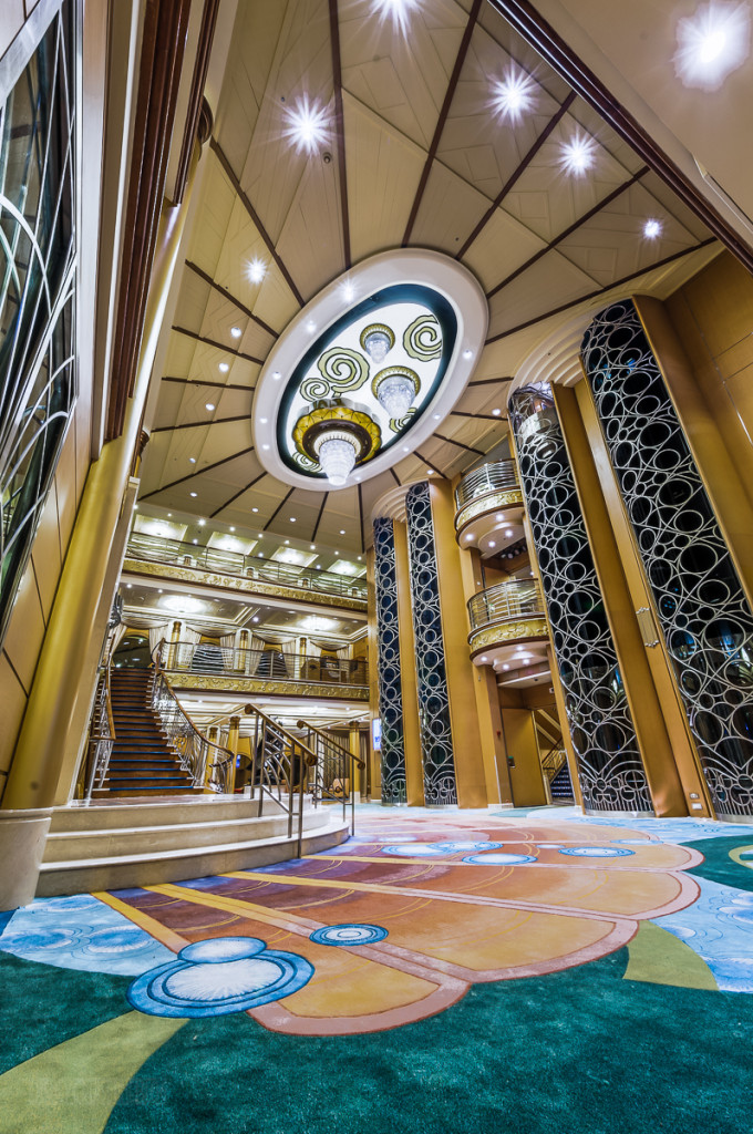Disney Magic Re Imagined Atrium Asymetrical Staircase