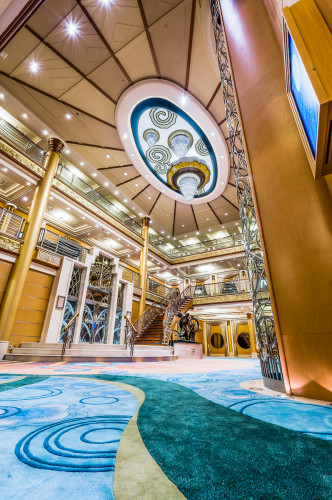 Disney Magic Re Imagined Asymetric Atrium