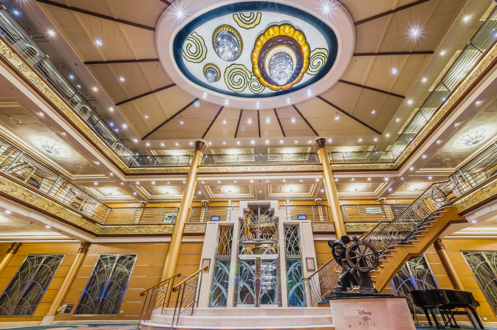 Disney Magic Re Imagined Atrium Lobby