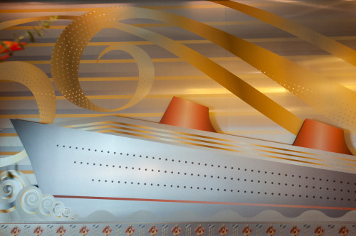 Disney Magic Re Imagined Atrium Guest Services Mural