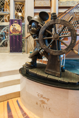 Disney Magic Re Imagined Atrium Helmsman Mickey Mouse
