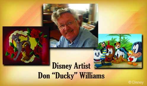 Disney Fantasy Don Ducky Williams Valentines Day 2014