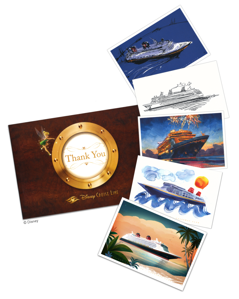DCL Castaway Club Art Cards 2014