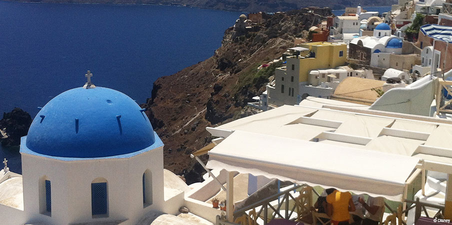 DCL Santorini Greece Village Of Oia Winery