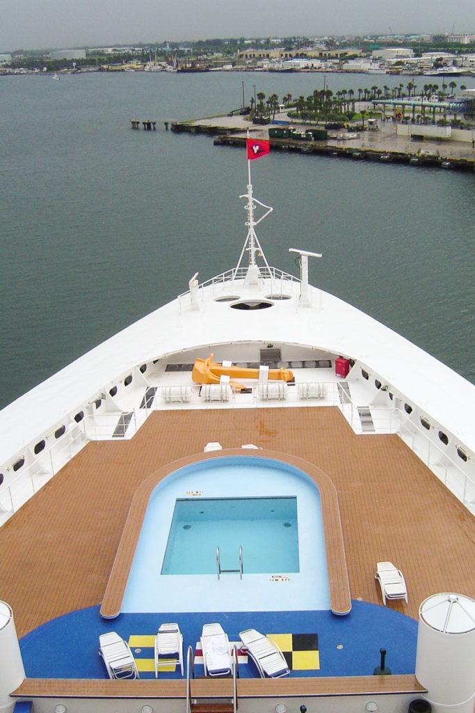 Disney Wonder Leaving Port Canaveral