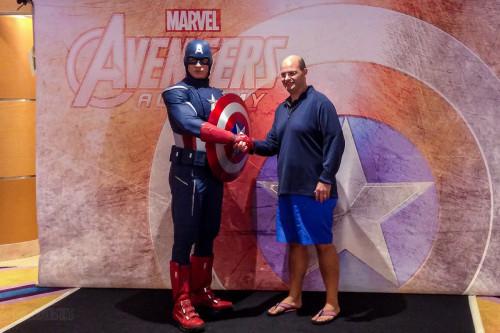 Disney Magic Captain America Meet And Greet