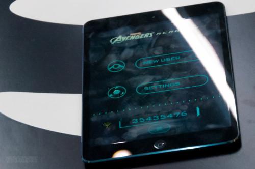 Disney Magic Marvel Avengers Academy IPad Interface