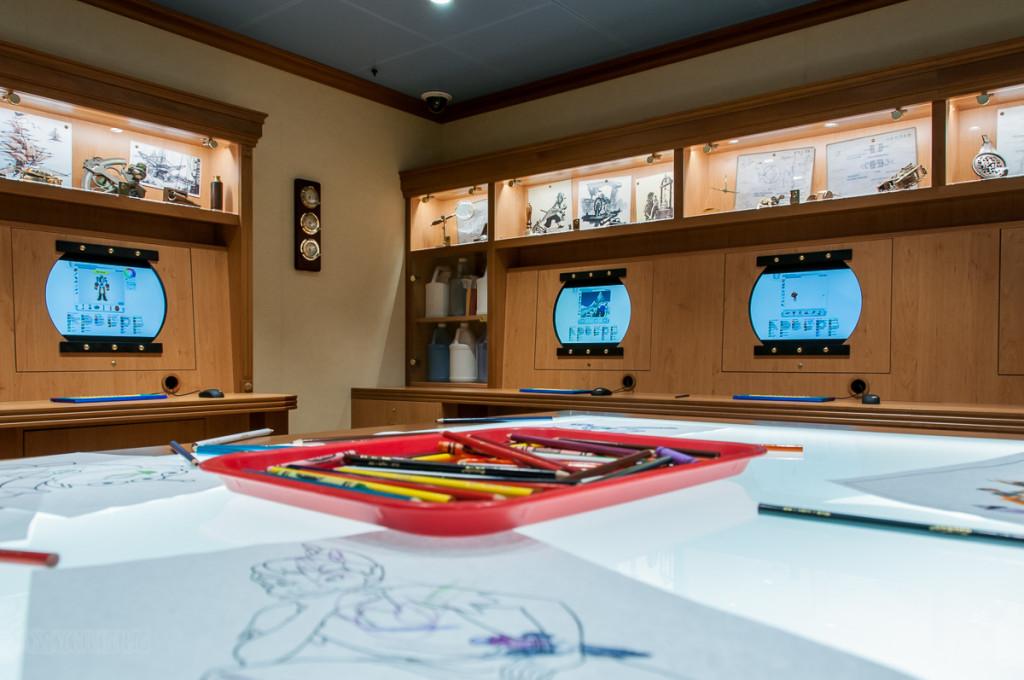 Disney Magic Oceaneer Lab Animation Area
