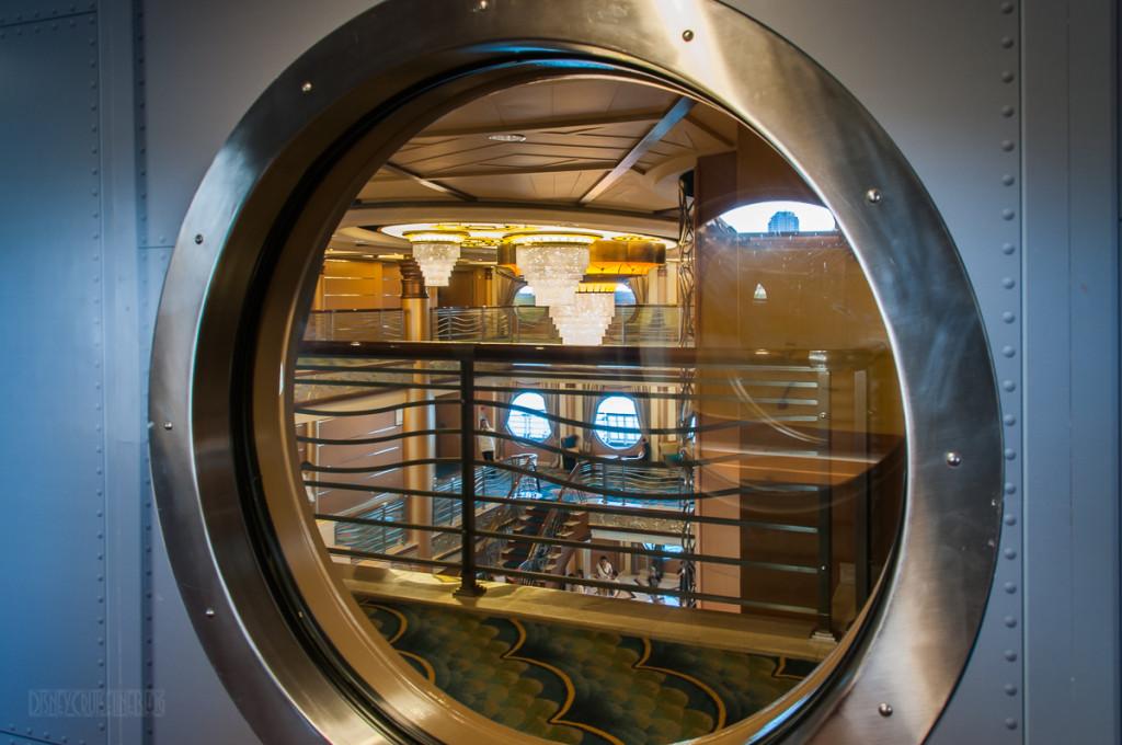 Disney Magic Oceaneer Lab To Club Hallway Atrium Porthole