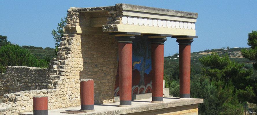 DCL Arolithos Knossos Heraklion Crete Greece Port Adventure