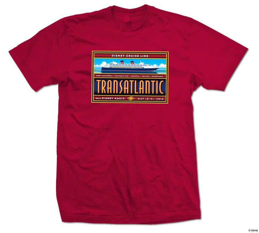 DCL EB Transatlantic 2014 Shirt