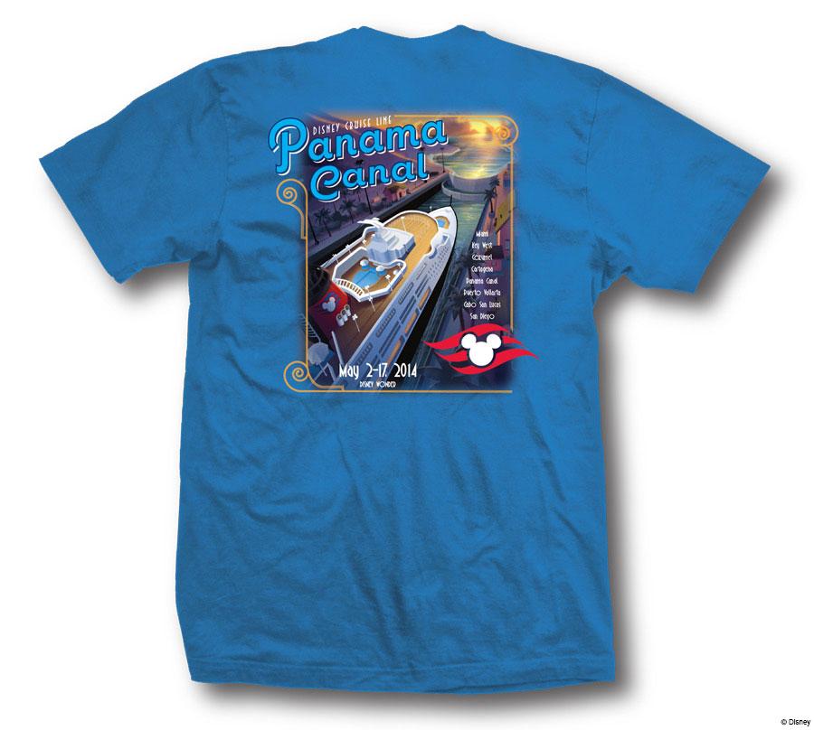 DCL Panama Canal 2014 Shirt