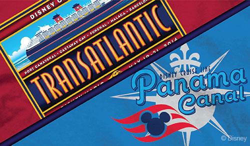 DCL Panama Canal Transatlantic 2014 Logo Shirts