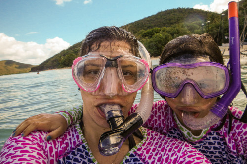 Snorkel Selfie At Cinnamon Bay