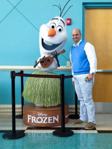 Olaf At Port Canaveral!