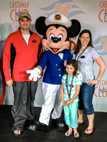 Castaway Club Reception With Captain Mickey