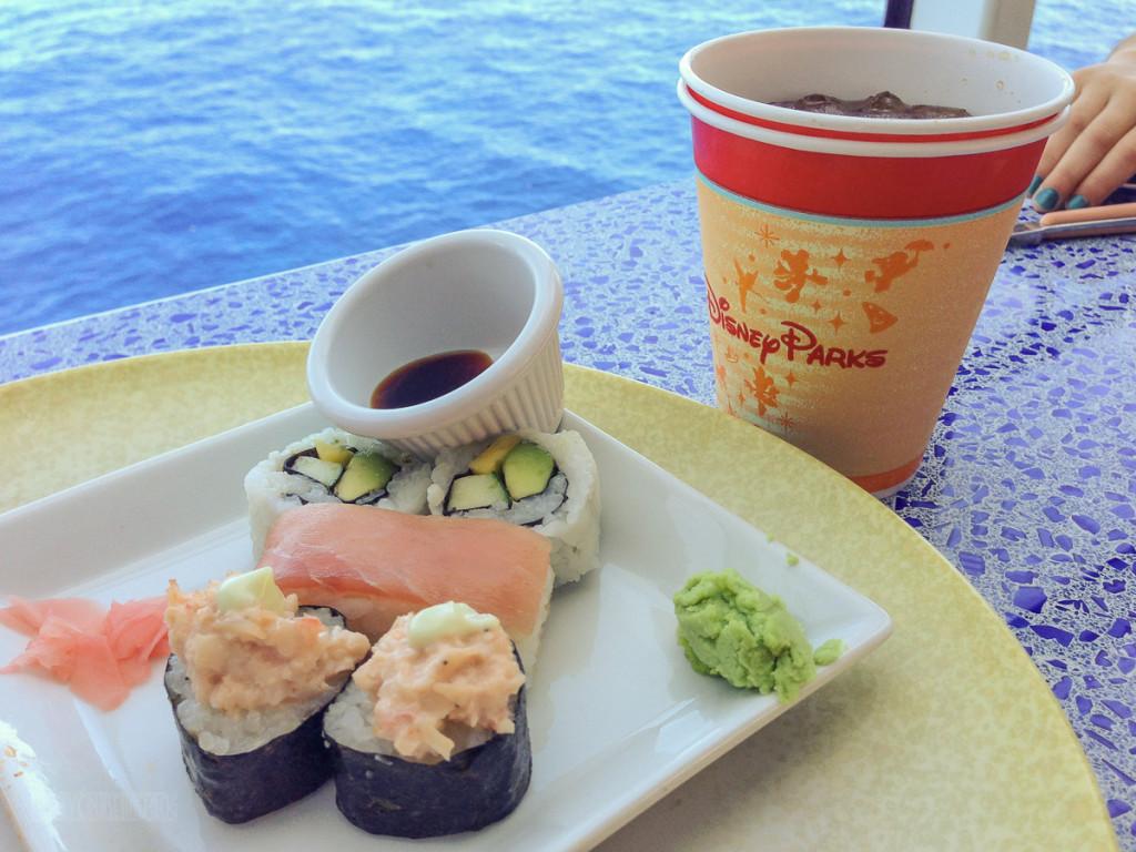 Sushi Cabanas' Lunch