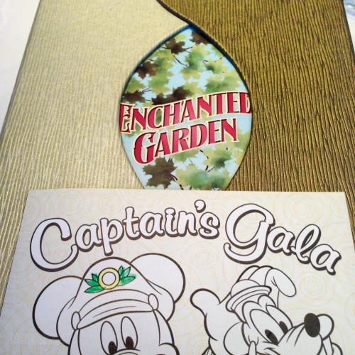 Captain's Gala Enchanted Garden