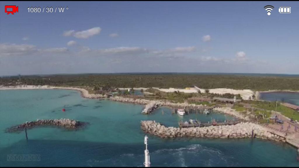 GoPro Castaway Cay Departure Screenshot