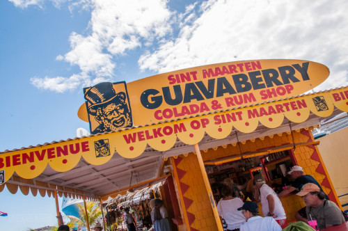 Sint Maarten Guavaberry Colada & Rum Shop