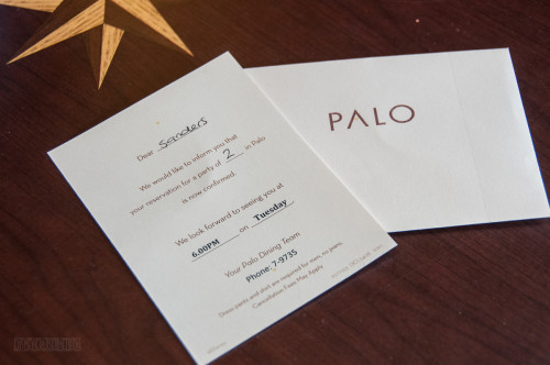 Palo Dinner Invitation