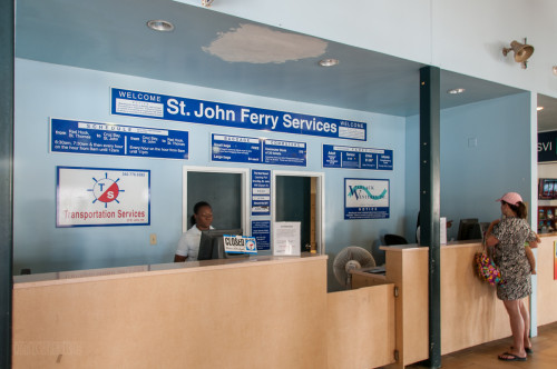 St John Ferry Service Ticket Booth
