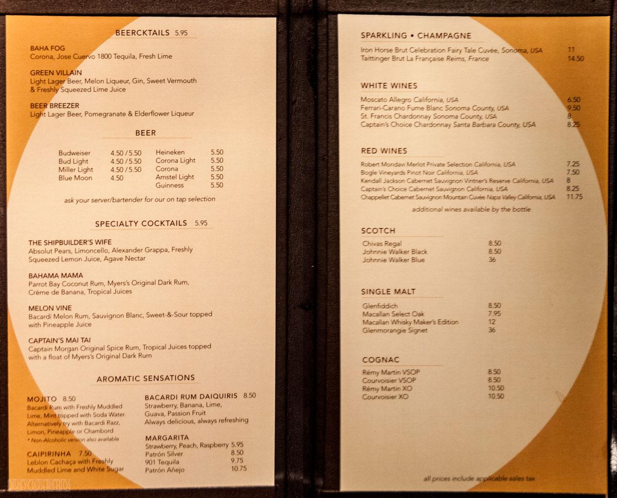disney dream menus 2014 autos post