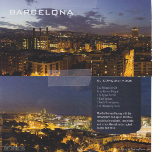 Skyline Passport Fantasy 2014 12 Barcelona 13 El Conquistador Recipe