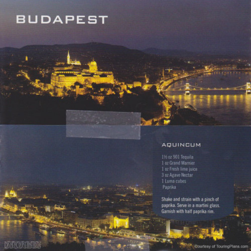 Skyline Passport Fantasy 2014 14 Budapest 15 Aquincum Recipe