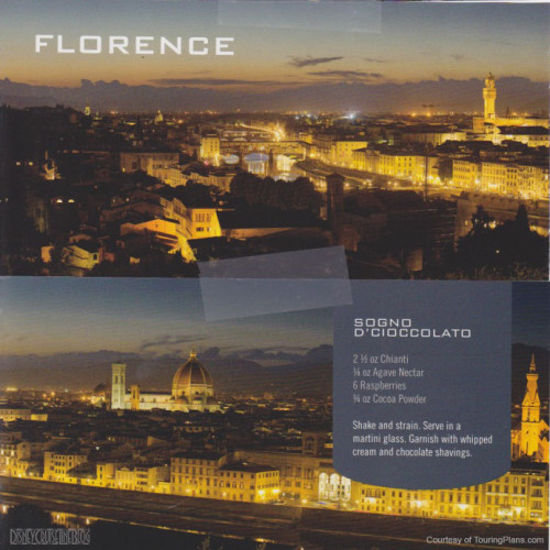Skyline Passport Fantasy 2014 16 Florence 17 Sogno D'Cioccolato Recipe
