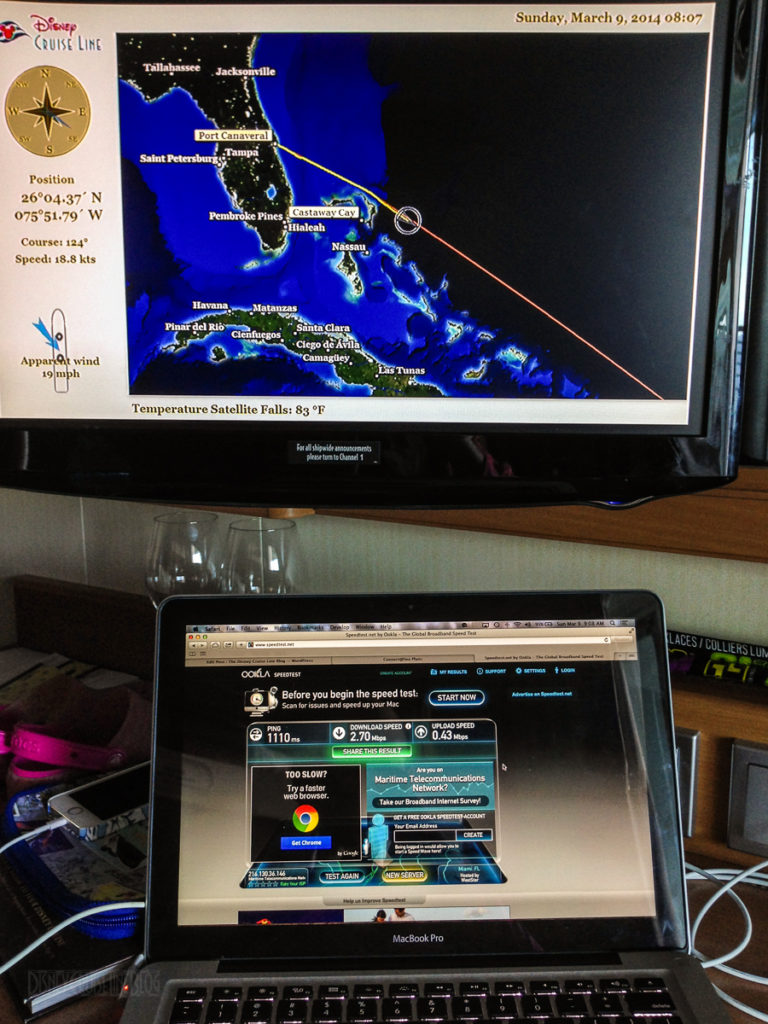 DCL Connect@Sea Speed Test