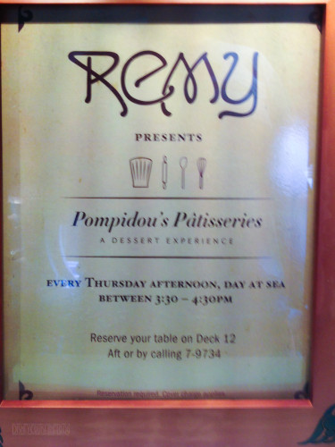 Remy Presents Pompidou's Patisseries A Dessert Experience