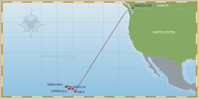 Disney Cruise To Hawaii >> Disney Cruise Line Announces Fall 2015 Itineraries Featuring A