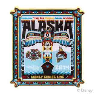 DCL 2014 Alaska Cruise Wonder Pin