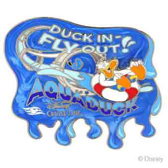 DCL 2014 Aqua Duck Pin