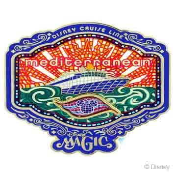 DCL 2014 Mediterranean Cruise Magic Pin