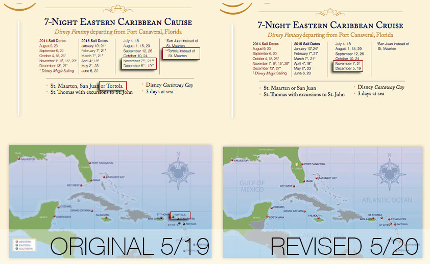 DCL May 2014 Brochure 7N Eastern Fantasy Tortola Fix