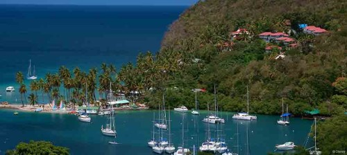 DCL St Lucia Castries Southern Caribbean