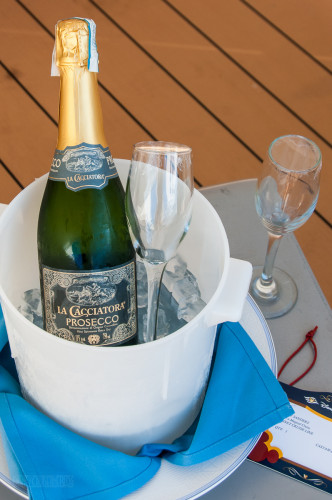 DCL Platinum Castaway Club Gift Prosecco