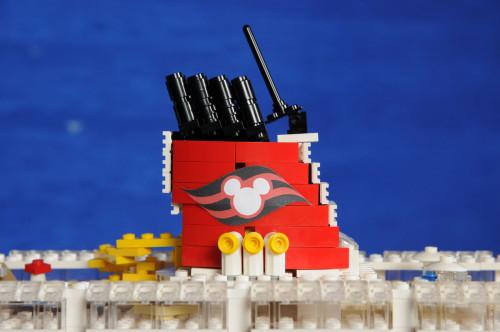 LEGO Disney Wonder Aft Funnel