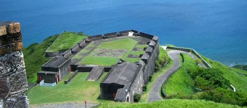 St Kitts Brimstone Hill