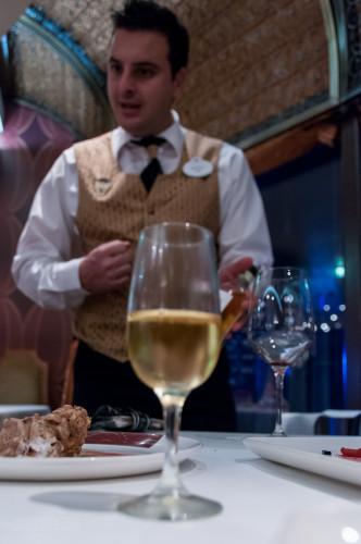 Palo Wine Pairing Passito Di Pantelleria Pellegrino 2008 Pour