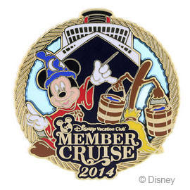 DCL Pin DCL Member Cruise August 2014