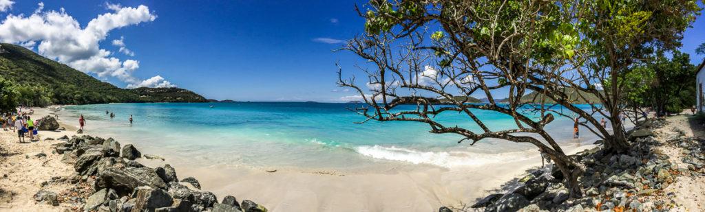 Cinnamon Bay Beach Panorama